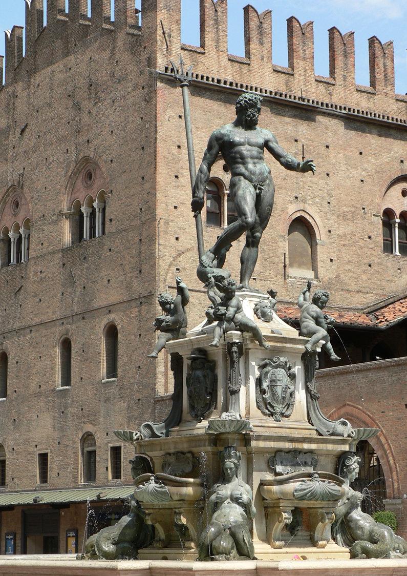 Basilica di S. Petronio – Piazza Maggiore – Fontana del Nettuno